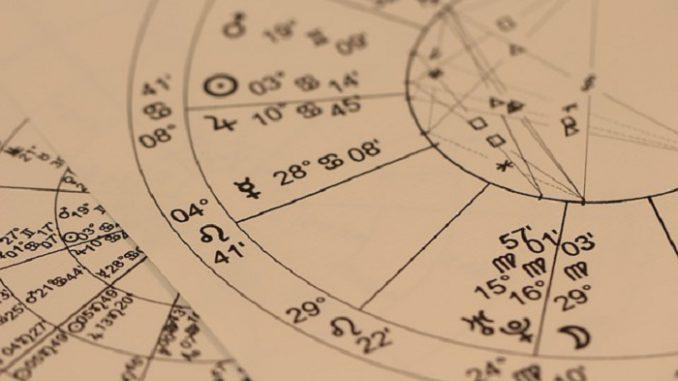 Diagramm Horoskop